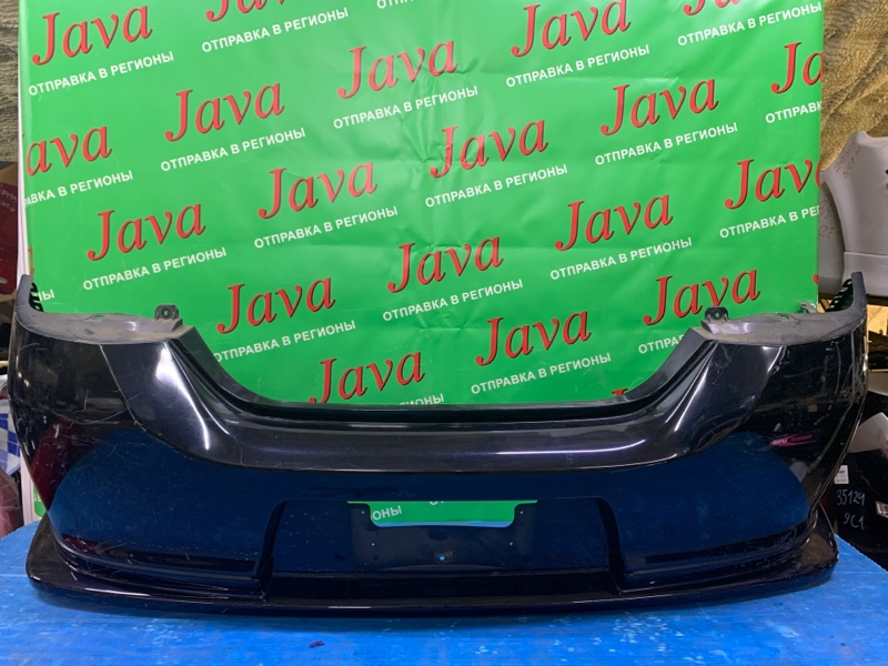 Бампер Nissan Tiida C11 HR15DE 2010 задний (б/у) ПОТЕРТОСТИ. ГУБА