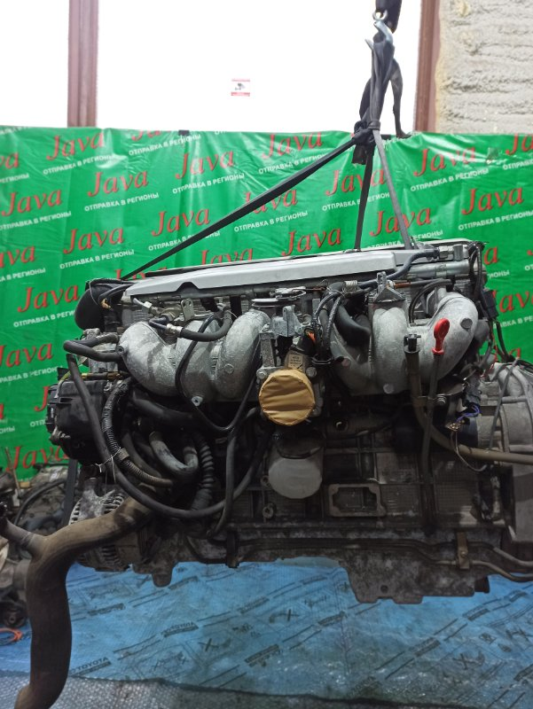 Двигатель Jaguar Xj X300 9JPFNB 1997 (б/у) ПРОБЕГ-94000КМ. 2WD. ПОД А/Т. СТАРТЕР В КОМПЛЕКТЕ. SAJJFKLD3BP798254.