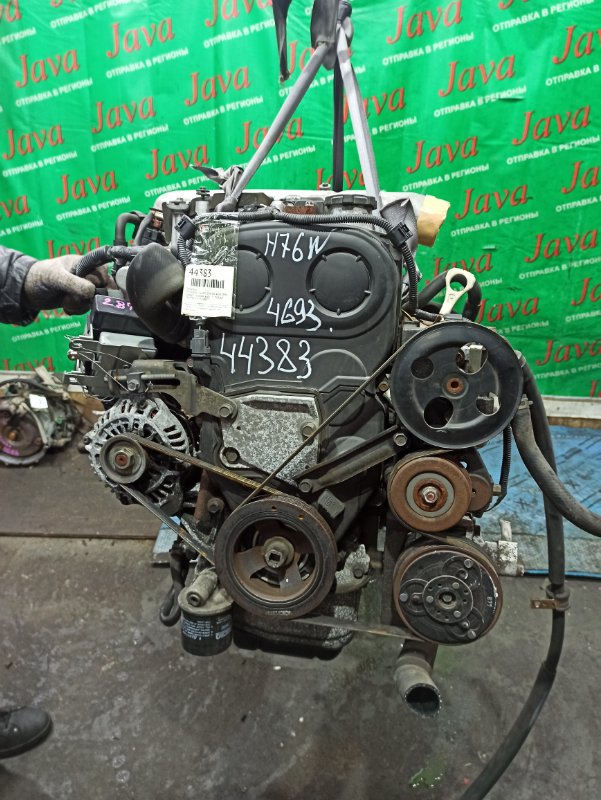 Двигатель Mitsubishi Pajero Io H76W 4G93 1999 (б/у) ПРОБЕГ-53000КМ. 4WD. GDI. MD352425. +КОМП. ПОД А/Т. СТАРТЕР В КОМПЛЕКТЕ.