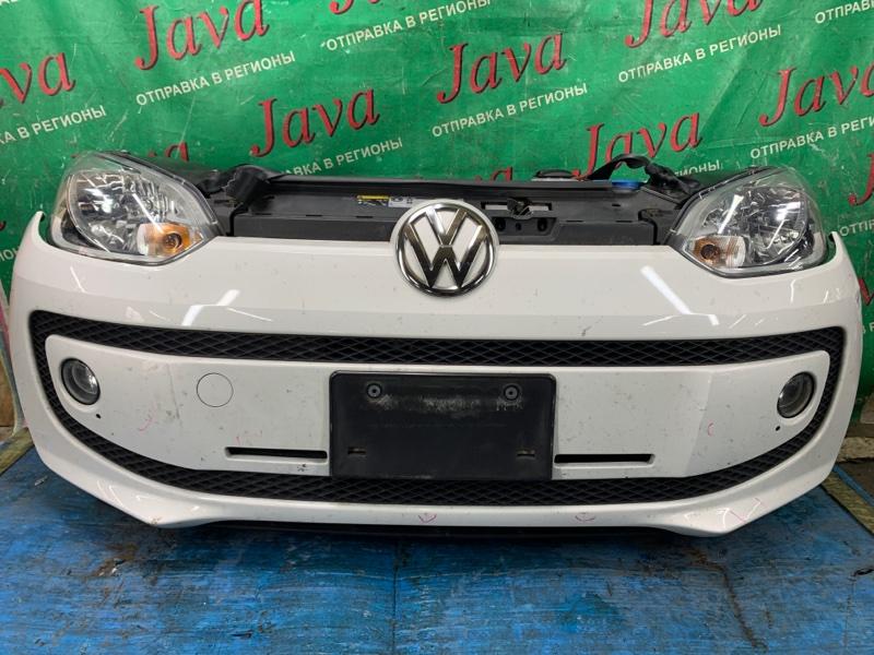 Ноускат Volkswagen Up! 121 CHY 2013 передний (б/у) ТУМАНКИ. ТРЕЩИНА ВЕРХНЕМ КРЕПЛЕНИИ ЛЕВОЙ ФАРЫ. WVWZZZAAZDD095227