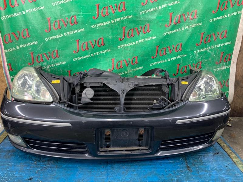 Ноускат Toyota Brevis JCG11 2JZ-GE 2001 передний (б/у) КСЕНОН. ПОТЕРТОСТИ НА БАМПЕРЕ. ЛОМ ДИФФУЗОРА.