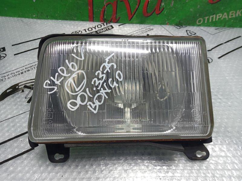 Фара Mazda Bongo Brawny SKE6V FE 2006 передняя левая (б/у) 001-3375
