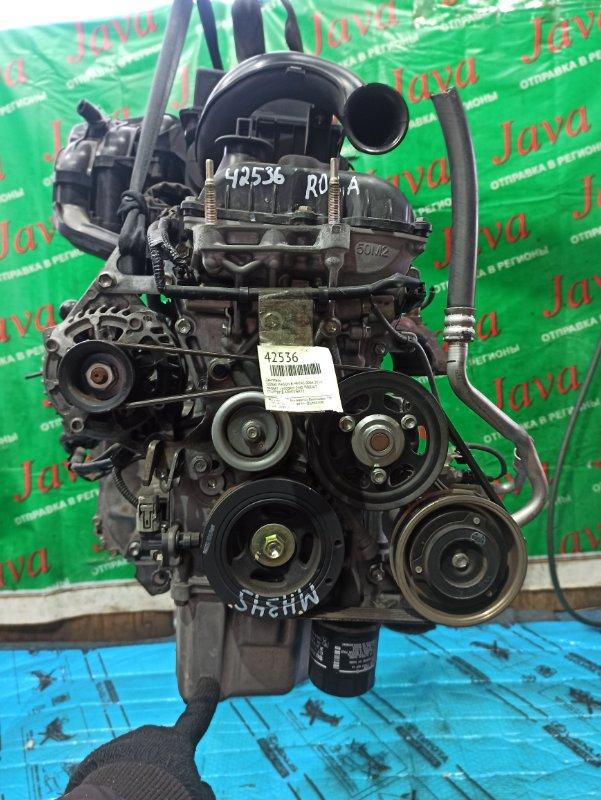 Двигатель Suzuki Wagon R MH34S R06A 2014 (б/у) ПРОБЕГ-24000КМ. 2WD. +КОМП. ЭЛЕКТРО ЗАСЛОНКА. ПОД А/Т. СТАРТЕР В КОМПЛЕКТЕ.
