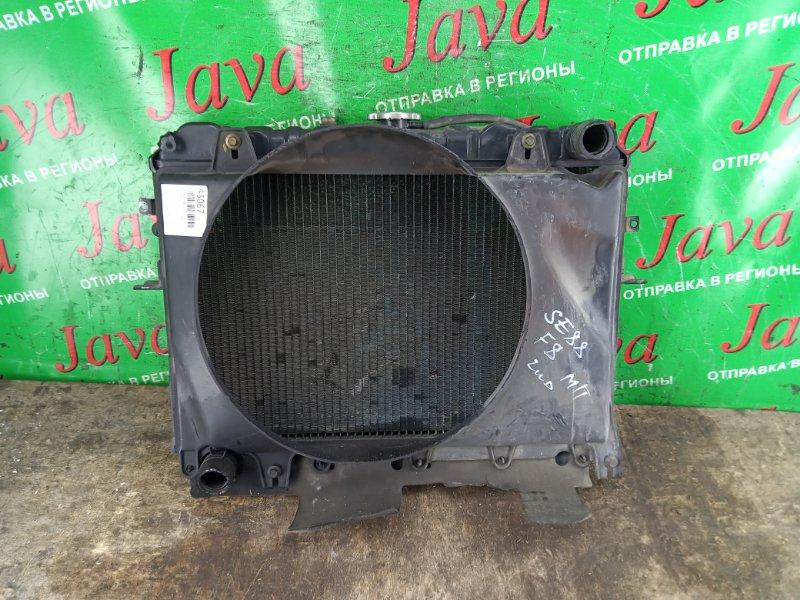 Радиатор основной Mazda Bongo SE88T F8 1995 передний (б/у) M/T