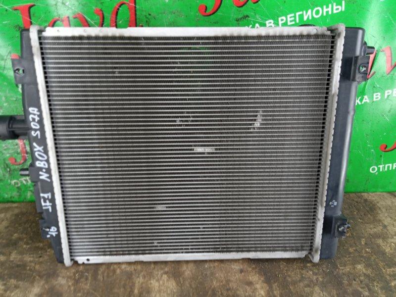 Радиатор основной Honda N-Box JF1 S07A 2016 передний (б/у) А/Т