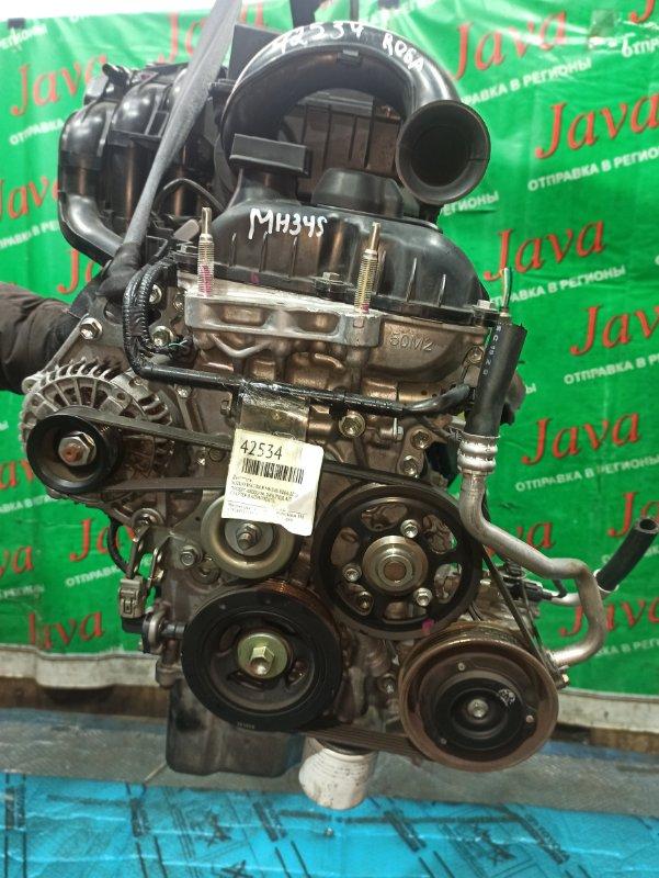 Двигатель Suzuki Wagon R MH34S R06A 2016 (б/у) ПРОБЕГ-48000КМ. 2WD. +КОМП. ПОД А/Т. СТАРТЕР В КОМПЛЕКТЕ. ДЕФЕКТ ПОДДОНА.