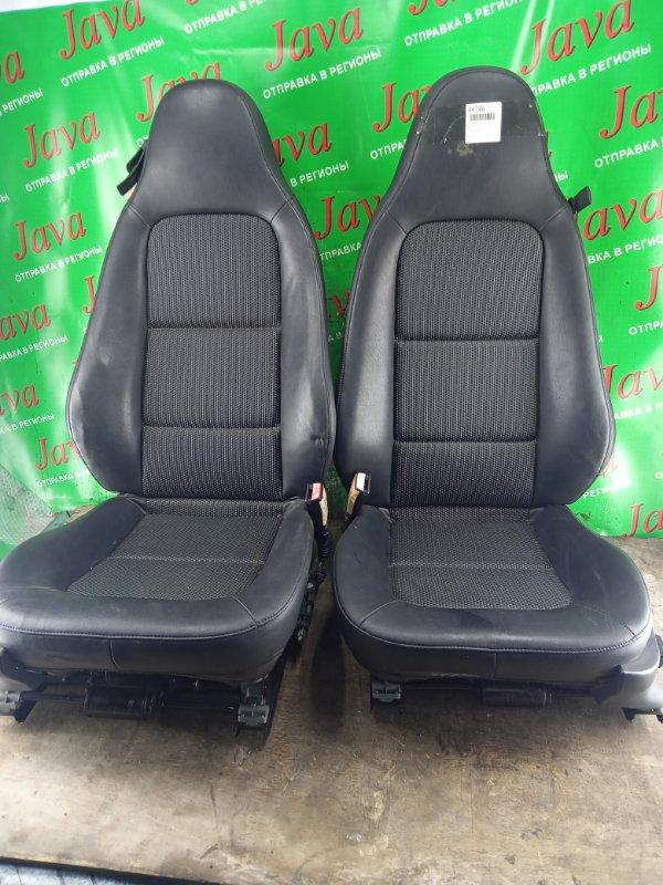 Сиденье Bmw Z3 E36 M52B20 2001 переднее (б/у) Продажа парой. ПРАВЫЙ РУЛЬ. WBACL32040LG86352.