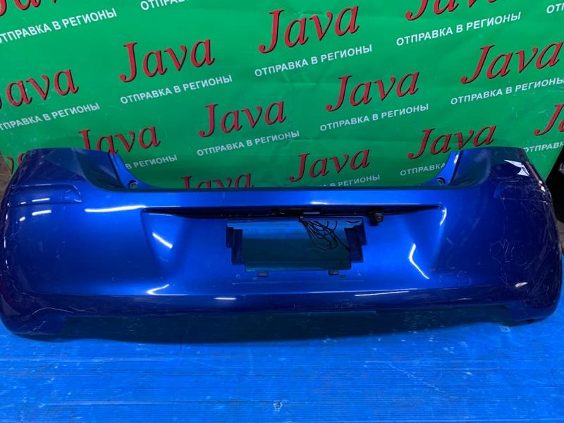 Бампер Toyota Vitz KSP90 1KR-FE 2008 задний (б/у) ПОТЕРТОСТИ. +КАМЕРА