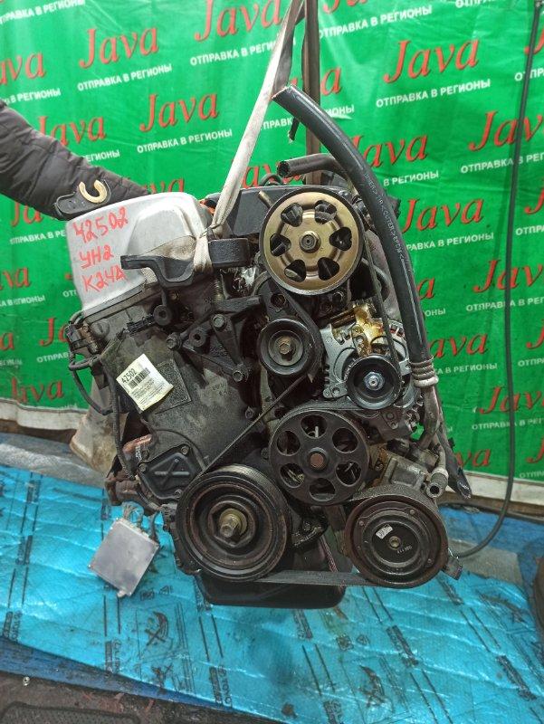 Двигатель Honda Element YH2 K24A 2003 (б/у) ПРОБЕГ-89000КМ. 4WD. КОСА+КОМП. МЕХ. ЗАСЛОНКА. ПОД А/Т. СТАРТЕР В КОМПЛЕКТЕ. ЛОМ ФИШКИ.