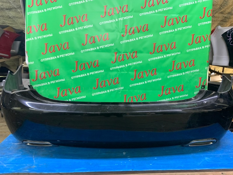 Бампер Toyota Crown GRS202 3GR-FSE 2011 задний (б/у) ПОТЕРТОСТИ. ТЫЧКА.