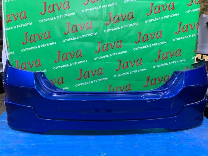 Бампер Honda Fit GD1 L13A 2005 задний (б/у) ПОТЕРТОСТИ. НАДОРВАН. ГУБА