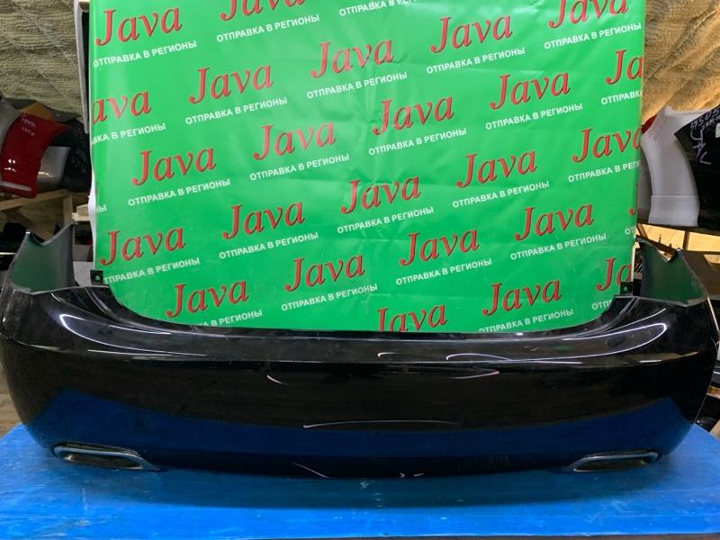 Бампер Toyota Crown GRS202 3GR-FSE 2013 задний (б/у) ПОТЕРТОСТИ.