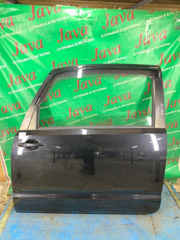 Дверь Toyota Porte NNP11 1NZ-FE 2007 передняя левая (б/у) ПОТЕРТОСТИ. +ВЕТРОВИК.
