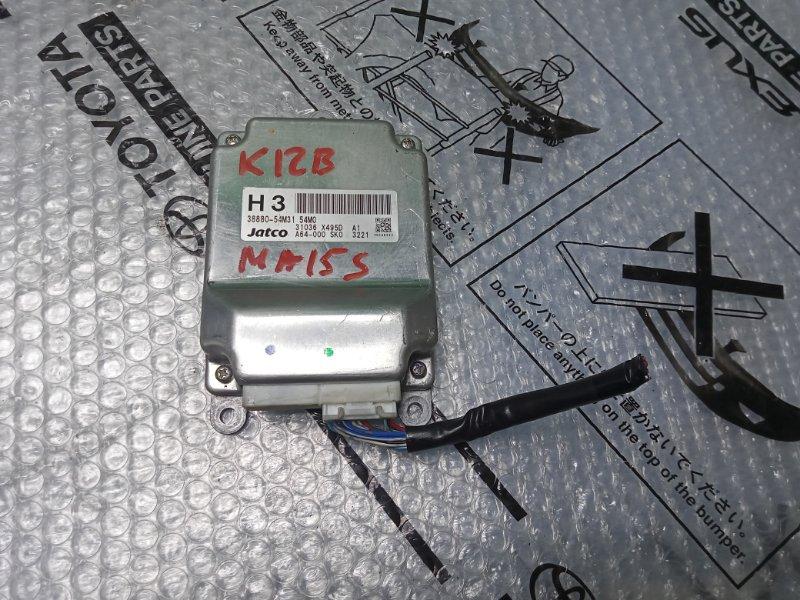 Блок управления акпп Suzuki Solio MA15S K12B 2013 (б/у) 38880-54M31