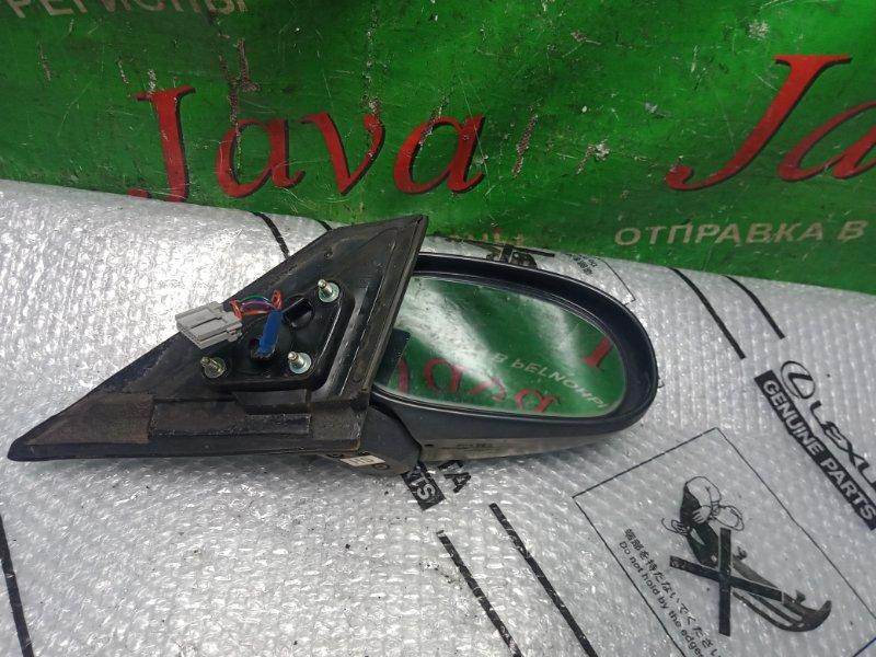 Зеркало Nissan Ad Y11 QG15DE 2004 переднее левое (б/у) 5 КОНТАТОВ