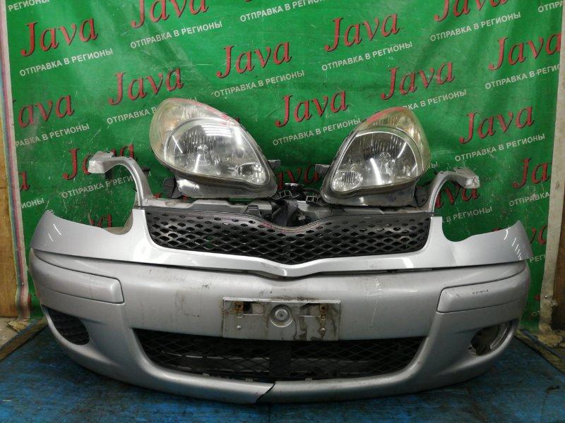 Ноускат Toyota Funcargo NCP20 2NZ-FE 2003 передний (б/у) 2-Я МОД. КСЕНОН. ДЕФЕКТ БАМПЕРА.