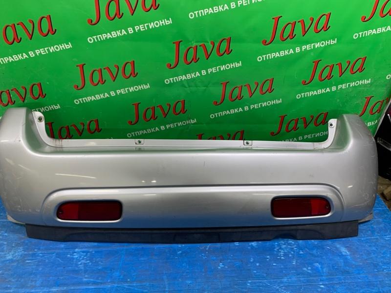 Бампер Suzuki Swift HT51S M13A 2005 задний (б/у) ПОТЕРТОСТИ