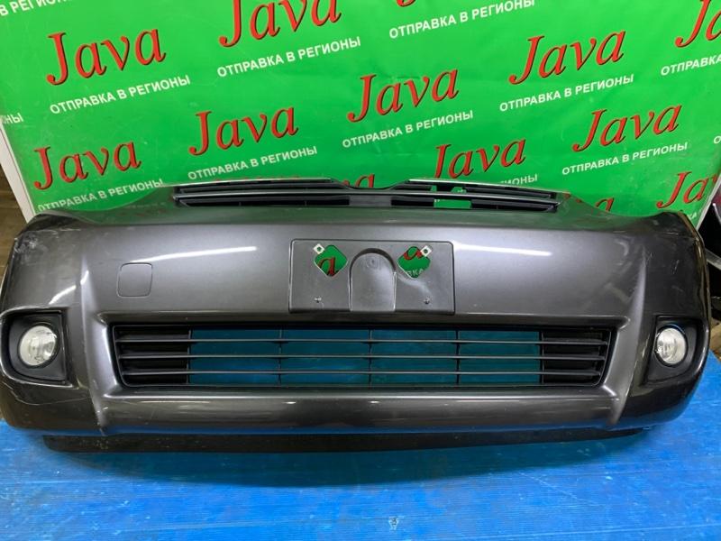 Бампер Toyota Sienta NCP81 1NZ-FE 2008 передний (б/у) ПОТЕРТОСТИ. МАЛЕНЬКАЯ ТЫЧКА. ТУМАНКИ.