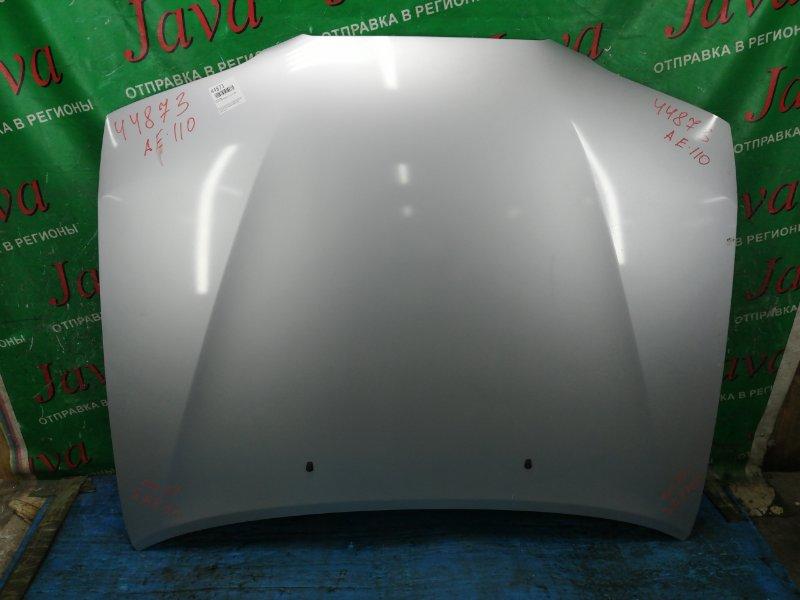 Капот Toyota Sprinter AE110 5A-FE 1997 передний (б/у) ПОТЕРТОСТИ.