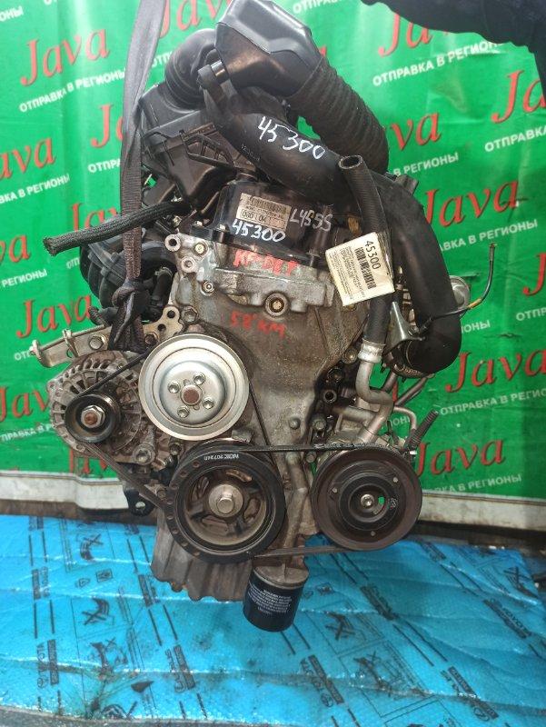 Двигатель Daihatsu Tanto Exe L455S KF-DET 2012 (б/у) ПРОБЕГ-58000КМ. 2WD. +КОМП. ПОД А/Т. СТАРТЕР В КОМПЛЕКТЕ.