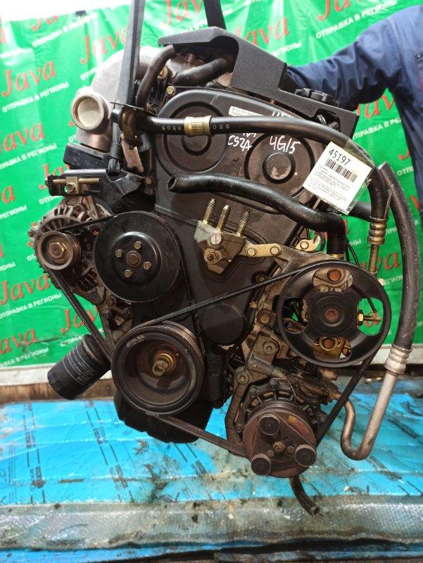 Двигатель Mitsubishi Lancer CS2A 4G15 2004 (б/у) ПРОБЕГ-48000КМ. 2WD. GDI.MD362933. +КОМП.  ПОД А/Т. СТАРТЕР В КОМПЛЕКТЕ.