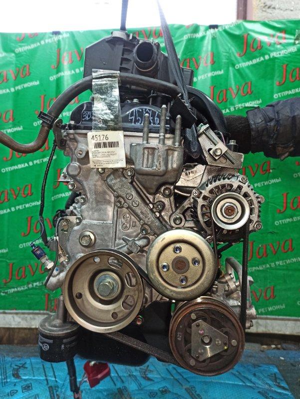 Двигатель Nissan Dayz B21W 3B20 2017 (б/у) ПРОБЕГ-21000КМ. 2WD. КОСА+КОМП. ЭЛЕКТРО ЗАСЛОНКА. ПОД А/Т. СТАРТЕР В КОМПЛЕКТЕ.