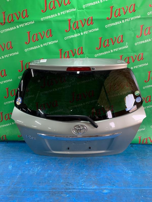 Дверь задняя Toyota Vitz KSP130 1KR-FE 2013 задняя (б/у) ПОТЕРТОСТИ. МЕТЛА. ТЫЧКА.