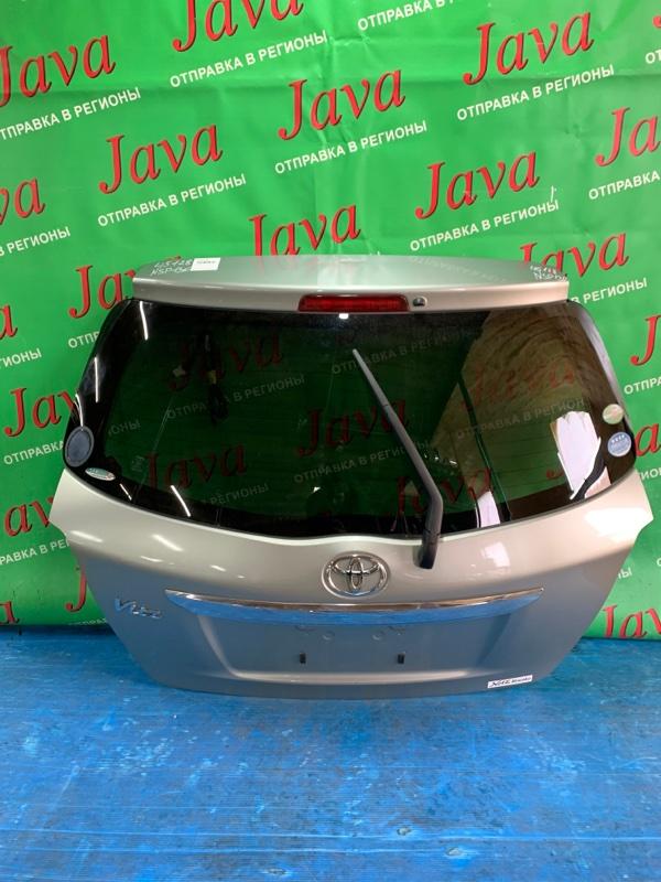 Дверь задняя Toyota Vitz NSP130 1NR-FE 2012 задняя (б/у) ПОТЕРТОСТИ. МЕТЛА. КАМЕРА.