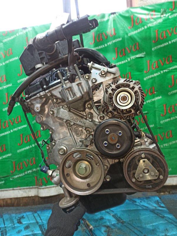 Двигатель Nissan Dayz B21W 3B20 2016 (б/у) ПРОБЕГ-16000КМ. 2WD. КОСА+КОМП. ПОД А/Т. СТАРТЕР В КОМПЛЕКТЕ.