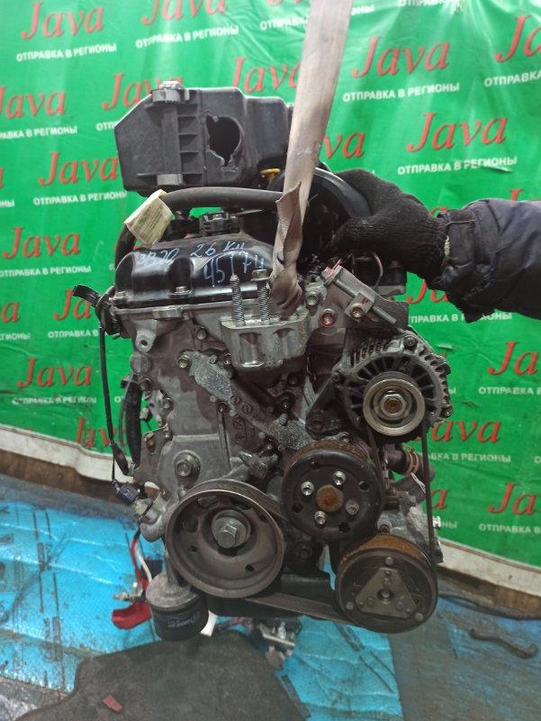 Двигатель Nissan Dayz B21W 3B20 2013 (б/у) ПРОБЕГ-26000КМ. 2WD. +КОМП. ПОД А/Т. СТАРТЕР В КОМПЛЕКТЕ.