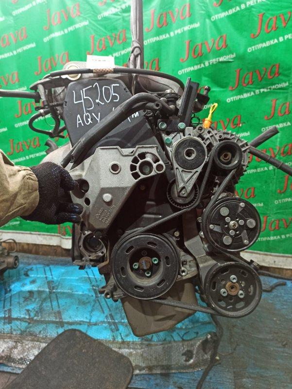 Двигатель Volkswagen New Beetle 9C1 AQY 2001 (б/у) ПРОБЕГ-44000КМ. 2WD. ПОД А/Т. +КОМП. СТАРТЕР В КОМПЛЕКТЕ. WVWZZZ9CZ1M633811