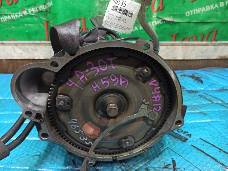 Акпп Nissan Kix H59A 4A30-T 2011 (б/у) V4A12 . 2011 ГОД. 4WD.ПРОБЕГ 77000КМ.