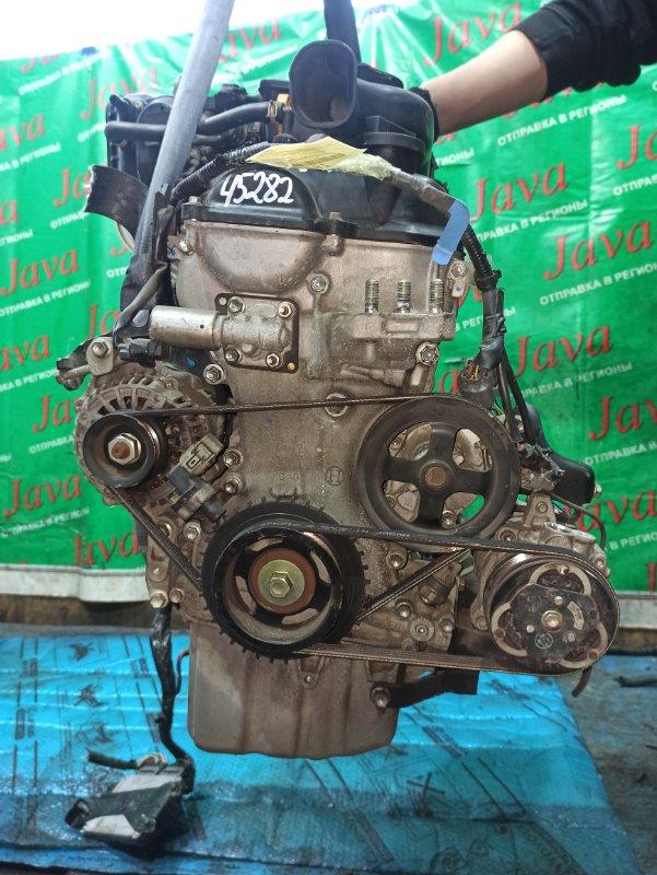 Двигатель Suzuki Wagon R MH23S K6A 2009 (б/у) ПРОБЕГ-37000КМ. 2WD. ЭЛЕКТРО ЗАСЛОНКА. ПОД А/Т. СТАРТЕР В КОМПЛЕКТЕ.