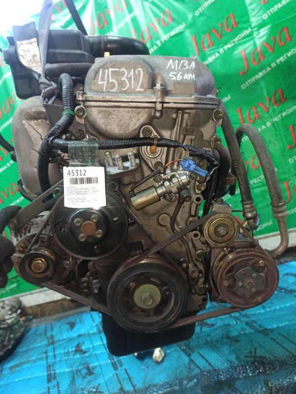 Двигатель Suzuki Swift HT51S M13A 2004 (б/у) ПРОБЕГ-56000КМ. 2WD. МЕХ.ЗАСЛОНКА. +КОМП. ПОД А/Т. СТАРТЕР В КОМПЛЕКТЕ.