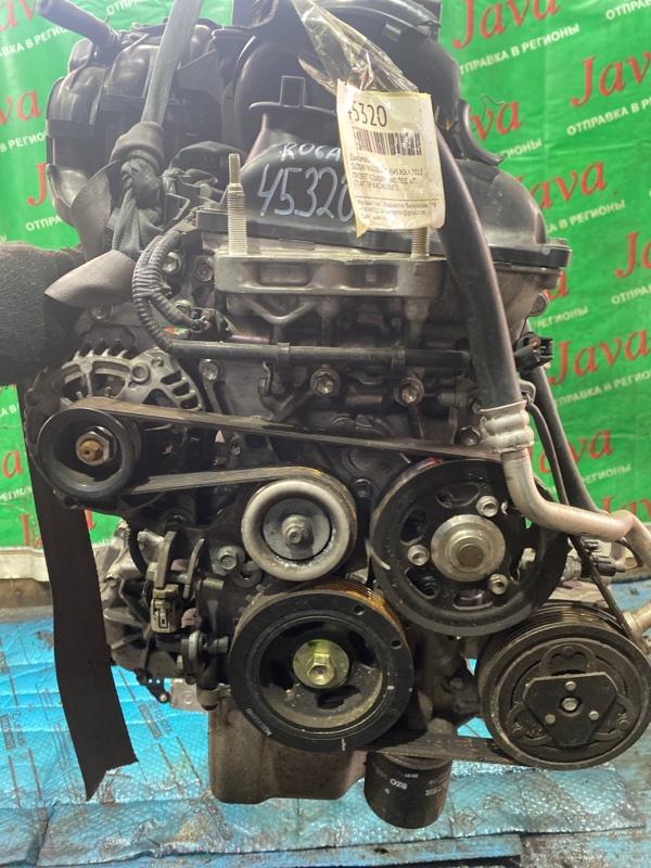 Двигатель Suzuki Wagon R MH34S R06A 2012 (б/у) ПРОБЕГ-52000КМ. 4WD. ПОД А/Т. +КОМП. СТАРТЕР В КОМПЛЕКТЕ.