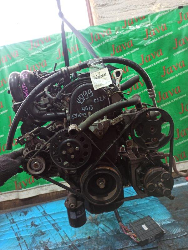 Двигатель Mitsubishi Lancer CS2A 4G15 2010 (б/у) ПРОБЕГ-57000КМ. 2WD. +КОМП. КАТУШЕЧНЫЙ. ПОД А/Т. СТАРТЕР В КОМПЛЕКТЕ.