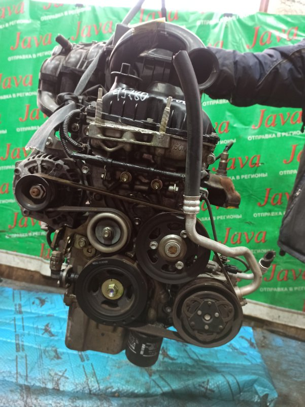 Двигатель Suzuki Wagon R MH34S R06A 2014 (б/у) ПРОБЕГ-38000КМ. 2WD. ЭЛЕКТРО ЗАСЛОНКА. +КОМП. ПОД А/Т. СТАРТЕР В КОМПЛЕКТЕ.