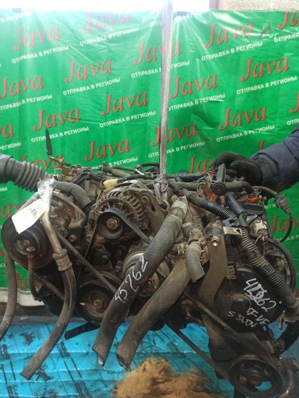 Двигатель Daihatsu Hijet S320V EF-VE 2005 (б/у) ПРОБЕГ-69000КМ. 2WD. КОСА+КОМП. МЕХ.ЗАСЛОНКА. ПОД А/Т. СТАРТЕР В КОМПЛЕКТЕ.