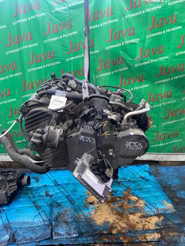 Двигатель Honda Acty HH5 E07Z 2007 (б/у) ПРОБЕГ-72000КМ. 2WD. КОСА+КОМП. МЕХ.ЗАСЛОНКА. ПОД А/Т. СТАРТЕР В КОМПЛЕКТЕ.