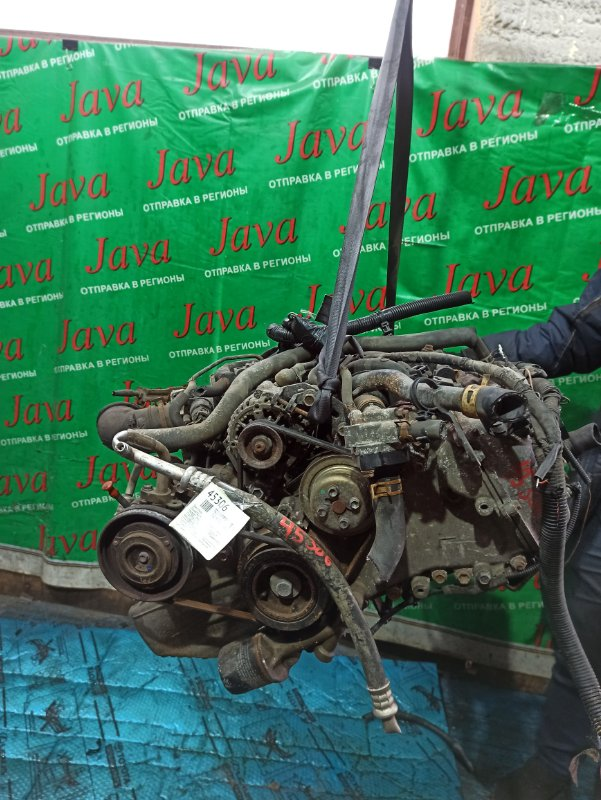 Двигатель Daihatsu Hijet S211P KF-VE 2010 (б/у) ПРОБЕГ-59000КМ. 4WD. ПОД М/Т. +КОМП. МЕХ.ЗАСЛОНКА. СТАРТЕР В КОМПЛЕКТЕ. ПРОДАЖА БЕЗ МАХОВИКА.
