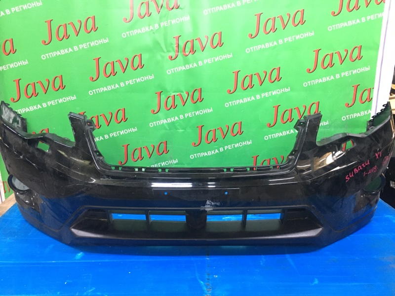 Бампер Subaru Impreza Xv GP7 FB20A 2013 передний (б/у) 1-я МОДЕЛЬ. ПОТЕРТОСТИ. ПОД ОМЫВАТЕЛЬ.