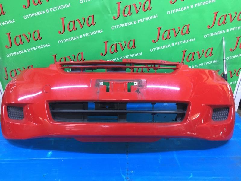 Бампер Toyota Passo KGC10 1KR-FE 2007 передний (б/у) ПОТЕРТОСТИ.