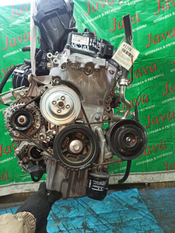 Двигатель Daihatsu Mira E:s LA300S KF-VE4 2014 (б/у) ПРОБЕГ-34000КМ. 2WD. ПОД А/Т. СТАРТЕР В КОМПЛЕКТЕ.