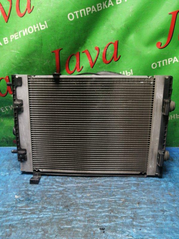 Радиатор основной Daihatsu Tanto L455S KF-VE 2010 передний (б/у) A/T