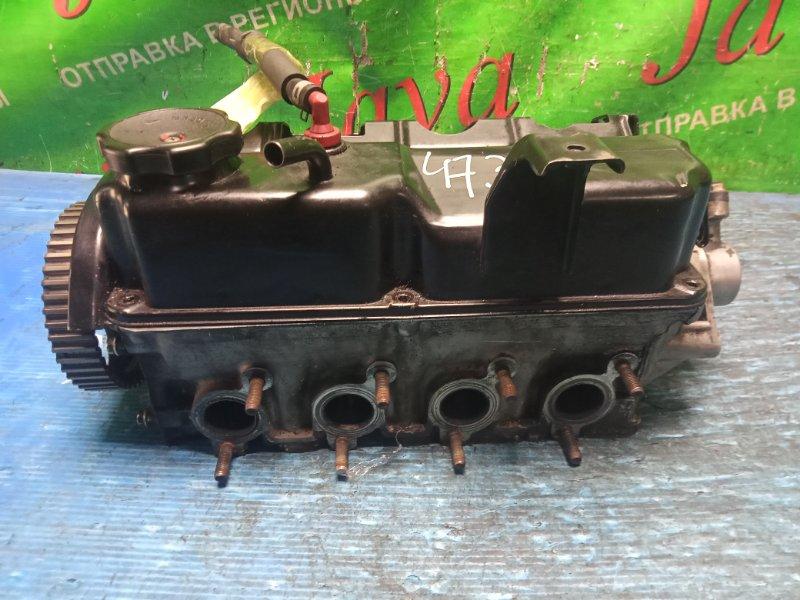 Головка блока цилиндров Mitsubishi Pajero Mini H58A 4A30-T 2007 (б/у) 16 КЛАПАННЫЙ. ТУРБО