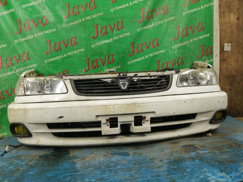 Ноускат Toyota Corolla CE113 3C-E 1999 передний (б/у) 2-я мод. туманки. под а/т.