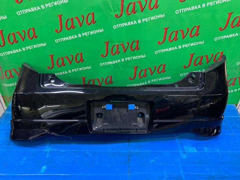 Бампер Honda Life JC1 P07A 2010 задний (б/у) ПОТЕРТОСТИ.
