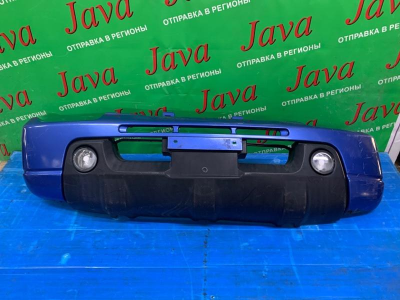 Бампер Suzuki Jimny JB23W K6A 2003 передний (б/у) ПОТЕРТОСТИ. ТУМАНКИ.