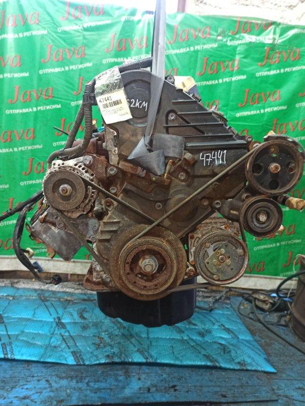 Двигатель Toyota Corolla CE113 3C-E 1999 (б/у) ПРОБЕГ-62000КМ. 2WD. EFI. КОСА+КОМП. ПОД А/Т. СТАРТЕР В КОМПЛЕКТЕ.