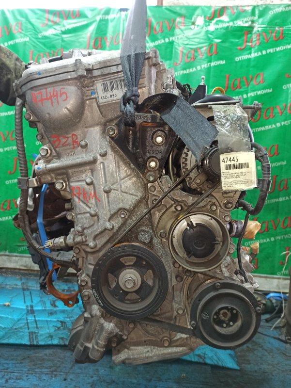 Двигатель Toyota Allion ZRT261 3ZR-FAE 2008 (б/у) ПРОБЕГ-77000КМ. 2WD. КОСА+КОМП. ПОД А/Т. СТАРТЕР В КОМПЛЕКТЕ.